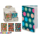 wholesale Booklets & Blocks: hardcover notebook a6 circles 4 times assorted