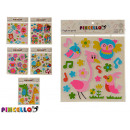 wholesale Household & Kitchen: wall stickers 38x32cm varied 6 times assorted
