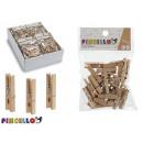 Großhandel Schulbedarf: Satz von 25 Holzhandwerkszangen