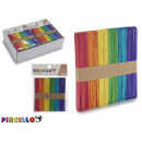 wholesale Gifts & Stationery: set of 50 manualid wood sticks, colors surt