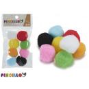 set of 8 colors balls manualid diameter 3cm
