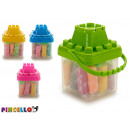 set of plasticine and molds piggy bank castill 4 v
