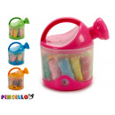 wholesale Garden Equipment: set of plasticine and molds watering can colors 3