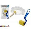 wholesale School Supplies: set of sponge roller with seal and trowel