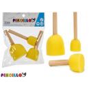 nagyker Licenc termékek: 3 szivacsbélyegző kézműves készlet