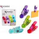 wholesale Magnets: set of 4 assorted colors magnet clips