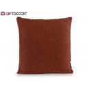 50x50 dark brown canvas cushion
