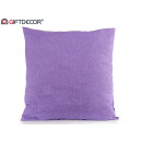 cushion loneta 60x60 lilac