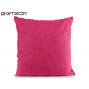 wholesale Cushions & Blankets: fuchsia 60x60 canvas cushion