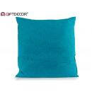 wholesale Cushions & Blankets: 60x60 turquoise canvas cushion