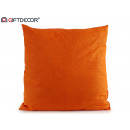 cushion canvas 60x60 orange