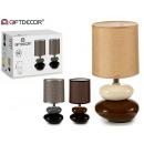wholesale Lampes: set of 2 bedside lamps 3 colors 2 stones