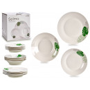 wholesale Other: porcelain tableware 18 pieces tropical