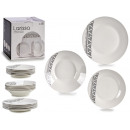 ingrosso Casalinghi & Cucina: stoviglie in porcellana 18 pezzi etnici