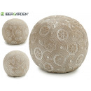 wholesale Beads & Charms: bleached cement flowers 3 times assorted