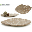 bleached cement center table leaf