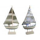 boat wood sailboat large sheet 30 leds