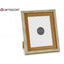 wholesale Pictures & Frames: portapoto 20x25 white aged paspar
