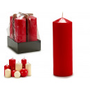 red taco candle 20cm