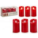 mayorista Electronica de ocio: conjunto de 3 velas led llama oscilante rojo