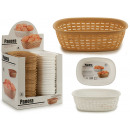 wholesale Lunchboxes & Water Bottles: oval rattan plastic bread basket 2 times ...