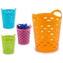 panier en plastique rond à usages multiples, fois