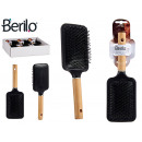 wholesale Haircare: flat hair brush wooden handle