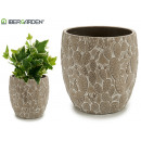 large bleached stone cactus