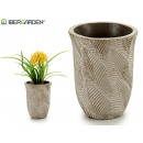 wholesale Food & Beverage: flowerpot leaves bleached stone