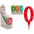 birthday candle large numbers 0 colors 4 times s