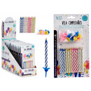 wholesale Gifts & Stationery: set of candles birthday magic models 2 vec