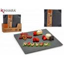 wholesale Decoration: Slate appetizer square 30x30 cm
