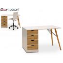 yaren wood desk