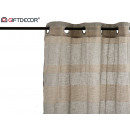 wholesale Curtains & Drapery: curtain 140x260cm 8 rings gray beige