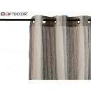 wholesale Curtains & Drapery: curtain 140x260cm stripes vert gray brown