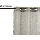 wholesale Curtains & Drapery: curtain 140x260cm 8 rings gray