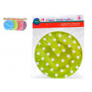 set of 10 plates round points 4 times surti