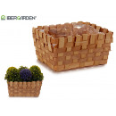 medium rectangular reed planter