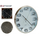 wholesale Clocks & Alarm Clocks: round deep relief watch, colors 3 times its