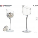 wholesale Drinking Glasses: glass mouth cut wide mouth