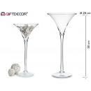 szklane szkło martini