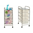chest of drawers 4 drawers transparent color
