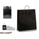 Großhandel Geschenkartikel & Papeterie: große schwarze Papiertüte