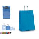 ingrosso Articoli da Regalo & Cartoleria: sacchetto di carta blu medio