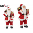 small santa claus 60cm with gift