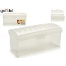 mayorista Mobiliario y accesorios oficina y comercio: panera de pan de molde plástico transparente
