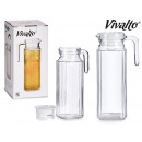 1000ml square glass fridge jug