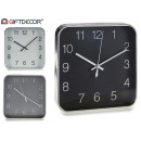 wholesale Clocks & Alarm Clocks: square clock 30 cm, colors 3 times assorted