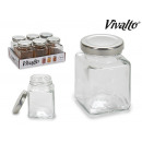 trans glass jar with lid 100 ml