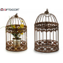 wholesale Decoration:cage round forge rust
